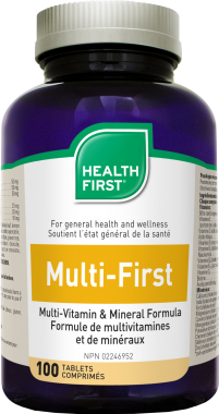Multi-First Multivitamin vassal MEGAPACK 180